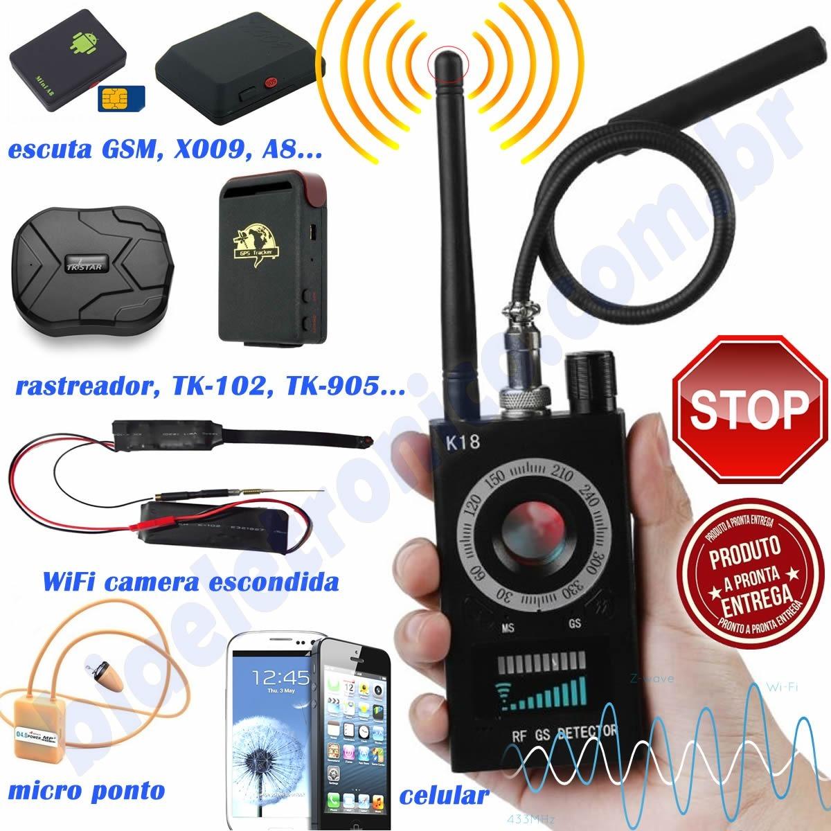micro rastreador para celular