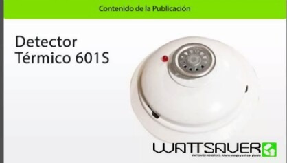 detector termico sovica 601s