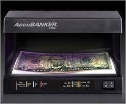 detector verifica billetes falsos dolar euro accubanker d63