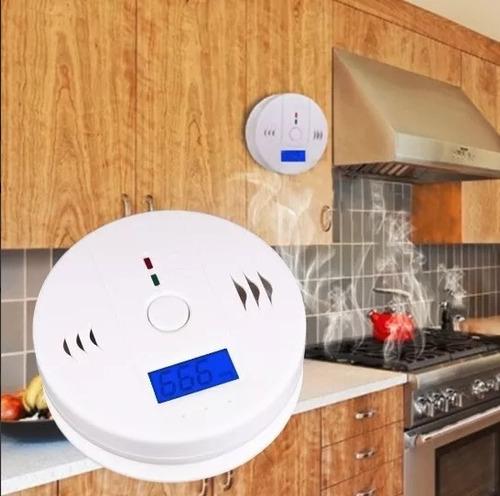 detector y alarma de monoxido de carbono 85db casa oficina