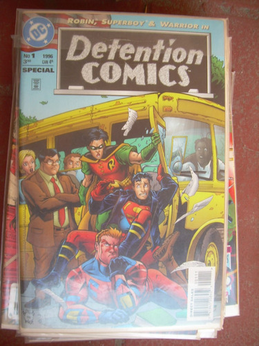 detention comics #1 de 1996