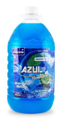 detergente azul bendito + citronela + sal - kg a $4