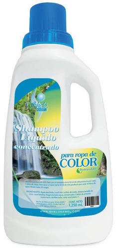 detergente biodegradable concentrado para ropa color