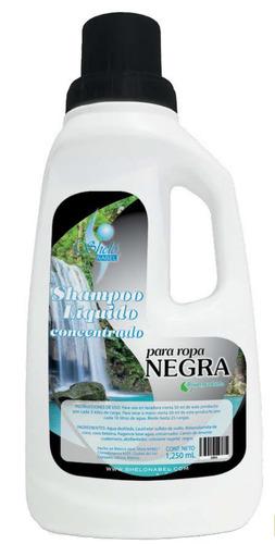 detergente biodegradable concentrado para ropa negra