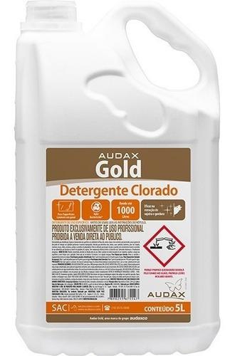 detergente clorado  concentrado 5 litros faz ate 1.000 lts
