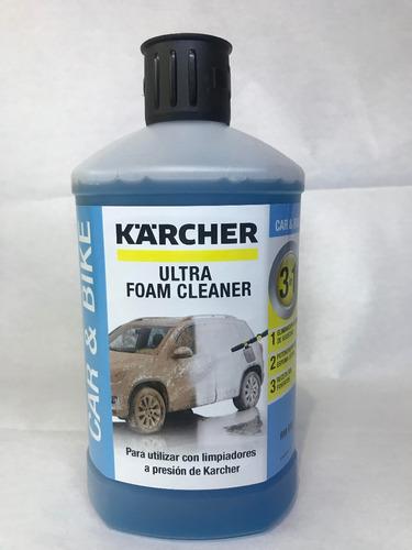 detergente espuma activa kärcher 1 lt
