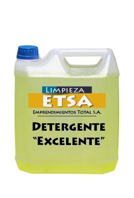 detergente  excelente  x 5lt