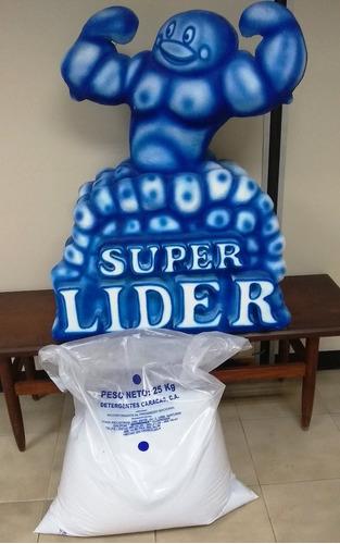 detergente industrial super lider 15kg oferta. $