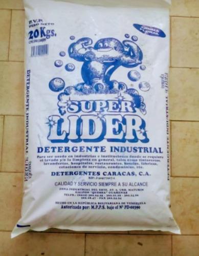detergente industrial super lider 20kg oferta 1.400.000
