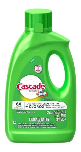 detergente lavavajillas cascade liquido 2.12 lt