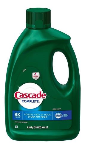 detergente lavavajillas liquido cascade 4.39 lt