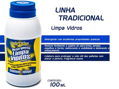 detergente limpa vidros autoshine 100 ml