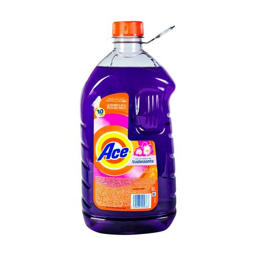 detergente líquido ace con suavizante botella 3 l.