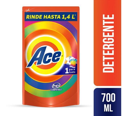 detergente liquido ace uno para todo 700ml