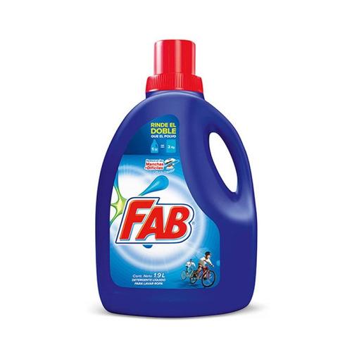 detergente líquido lavado ropa x1.9l