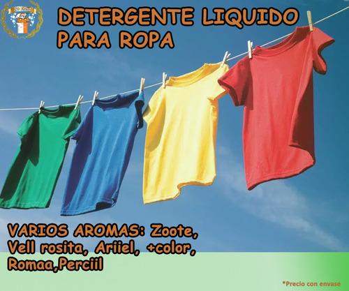 detergente liquido para ropa