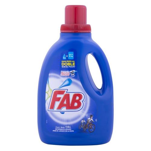 detergente líquido ropa