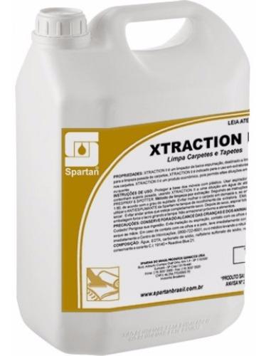 detergente para carpetes e estofados xtraction ii 5 litro