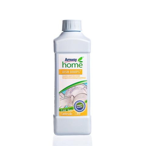 detergente para lavar louça + frasco c/ tampa flip top
