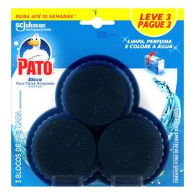 Detergente Sanitário Bloco Para Caixa Acoplada Marine Pato 40g Cada Leve 3 Pague 2 Unidades