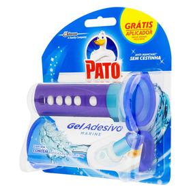 Detergente Sanitário Gel Adesivo Marine Pato 38g Grátis Aplicador