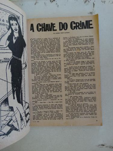 detetive nº 15 ano 10! o cruzeiro 1 agosto 1962!
