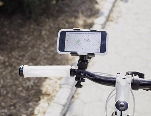 detiene celular para bicicleta negro kikkerland