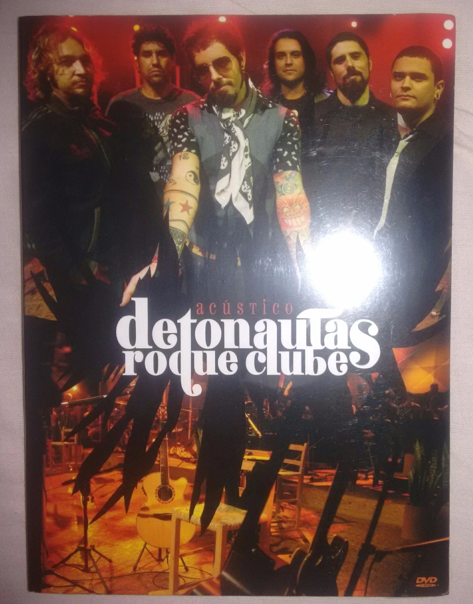 cd detonautas roque clube acstico