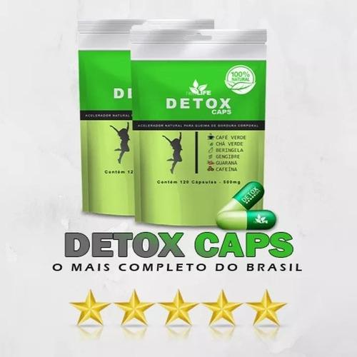 detox emagrecedor em cápsulas