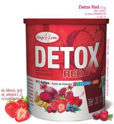 detox red slin combo mix suco 300g