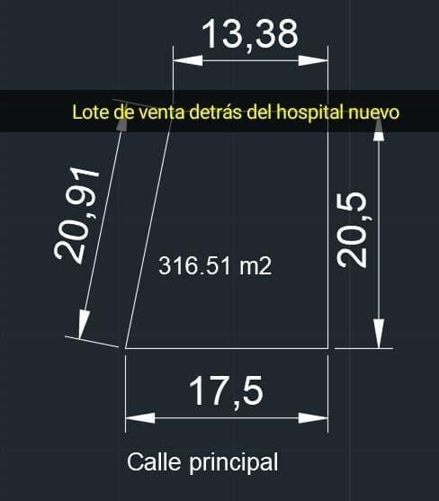 detras del hospital nuevo