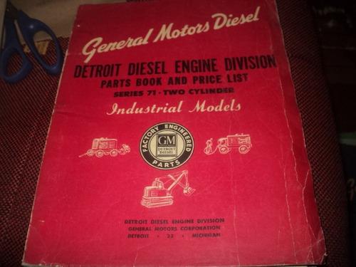 detroit diesel gm  séries 71 two cylinder 1946