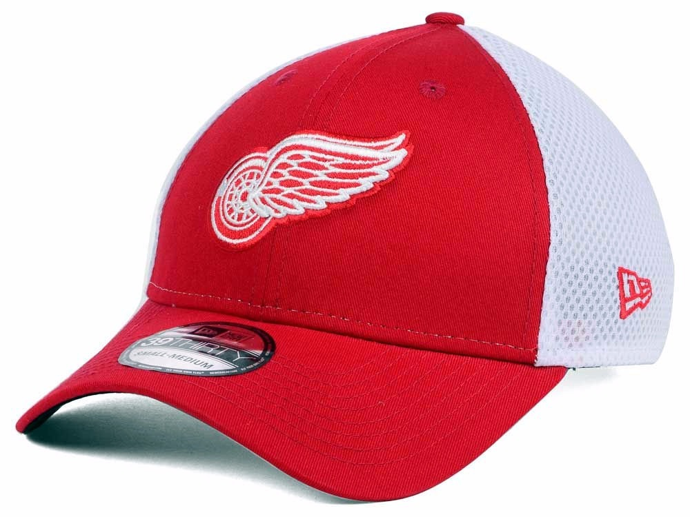 74c32d0b2fa detroit red wings new era neo dad hat 39thirty nhl talla m-l. Cargando zoom.