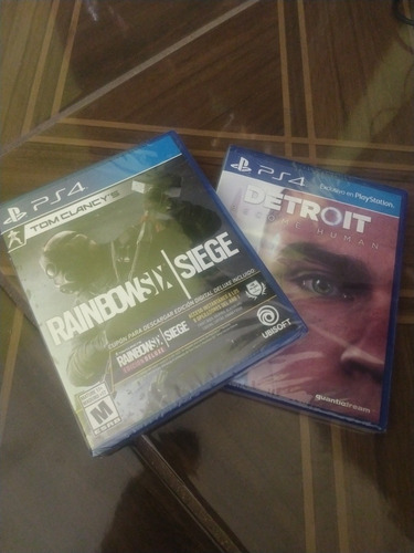 detroit y rainbows six para ps4
