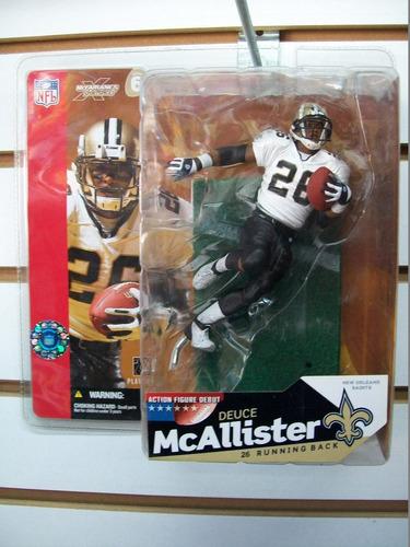 deuce mcallister new orleans saints nfl mcfarlane toys