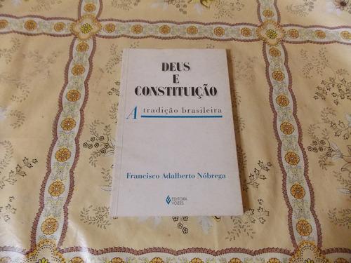 deus e constituição - franscisco adalberto nobrega