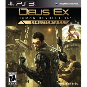 Deus Ex: Human Revolution Director Cut Digital Ps3
