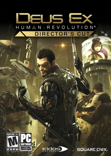 deus ex human revolution director's cut - steam pc gift card