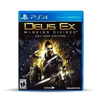 deus ex mankind divided-day one edition- ps4