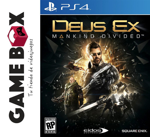 deus ex mankind divided day one edition ps4 - fisico nuevos