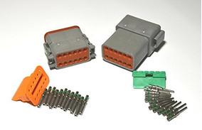 Clavijas wedglock Deutsch DTM serie 8 Vías Conector Kit DTM06-08SA-E007