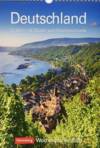 deutschland 2020. wochenplaner : harenberg