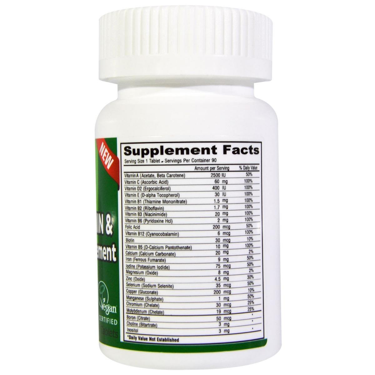 8bfaa9136 Deva Vegan Suplemento Multivitamínico E Minerais