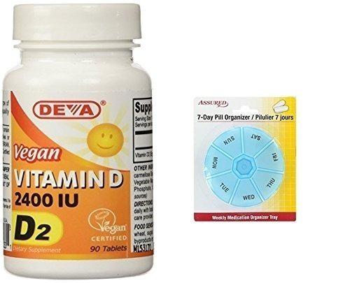 deva vegana vitaminas vegano vitamina d 2400 ui, d2, 90-c