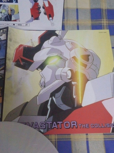 devastator d1 - anime , video laserdisc