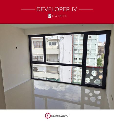 developer lv points/ dpto 2 ambientes con cochera