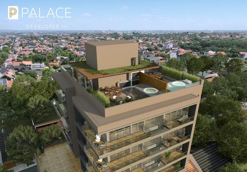 developer palace: 2 amb., cochera y terraza propia a estrenar sarmiento y roca