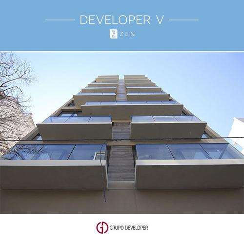 developer zen: 2 amb. al frente c/cochera gascón y córdoba
