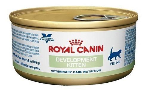 development kitten feline lata 165 gr. royal canin p/ gato