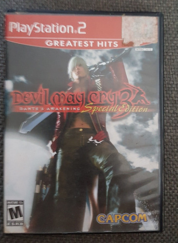 devil may cry 3 dantes awakening special edition playstation